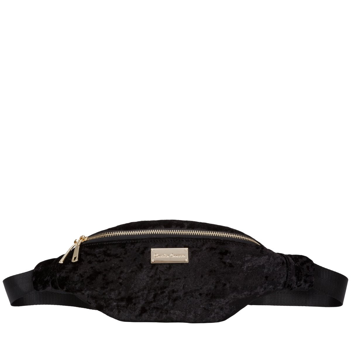 black bum bag